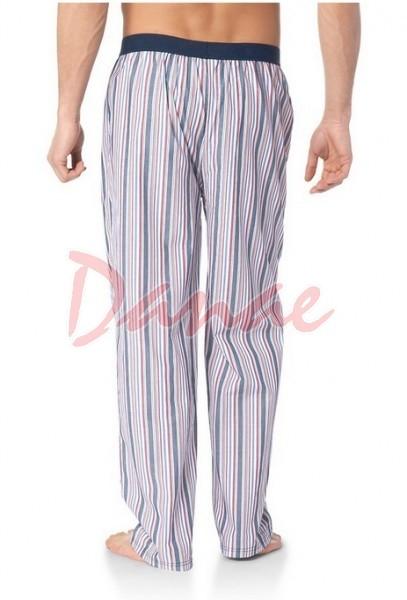 6e2e8a86b277d Pánske domáce nohavice dlhé prúžkované značky Mustang - Danaeshop