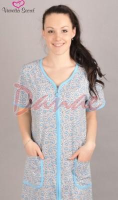 25ed2dbee Domáce oblečenie s krátkym rukávom na zips - Danaeshop