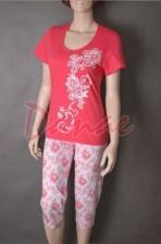 6f614faf4953 Dámske pyžamo so vzorom Veľký kvet Cana 2437 - Danaeshop