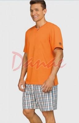 ac3b8703b Pánske pyžamo letné - Key Cruise - plátené šortky - Danaeshop