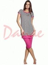 a02c6c4b175f Dámske pyžamo krátke - overal Tučniak Vienetta Secret - Danaeshop