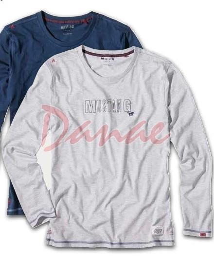 2f3d1d37e62b Pánske tričko Mustang - Lionel - dlhý rukáv - Danaeshop