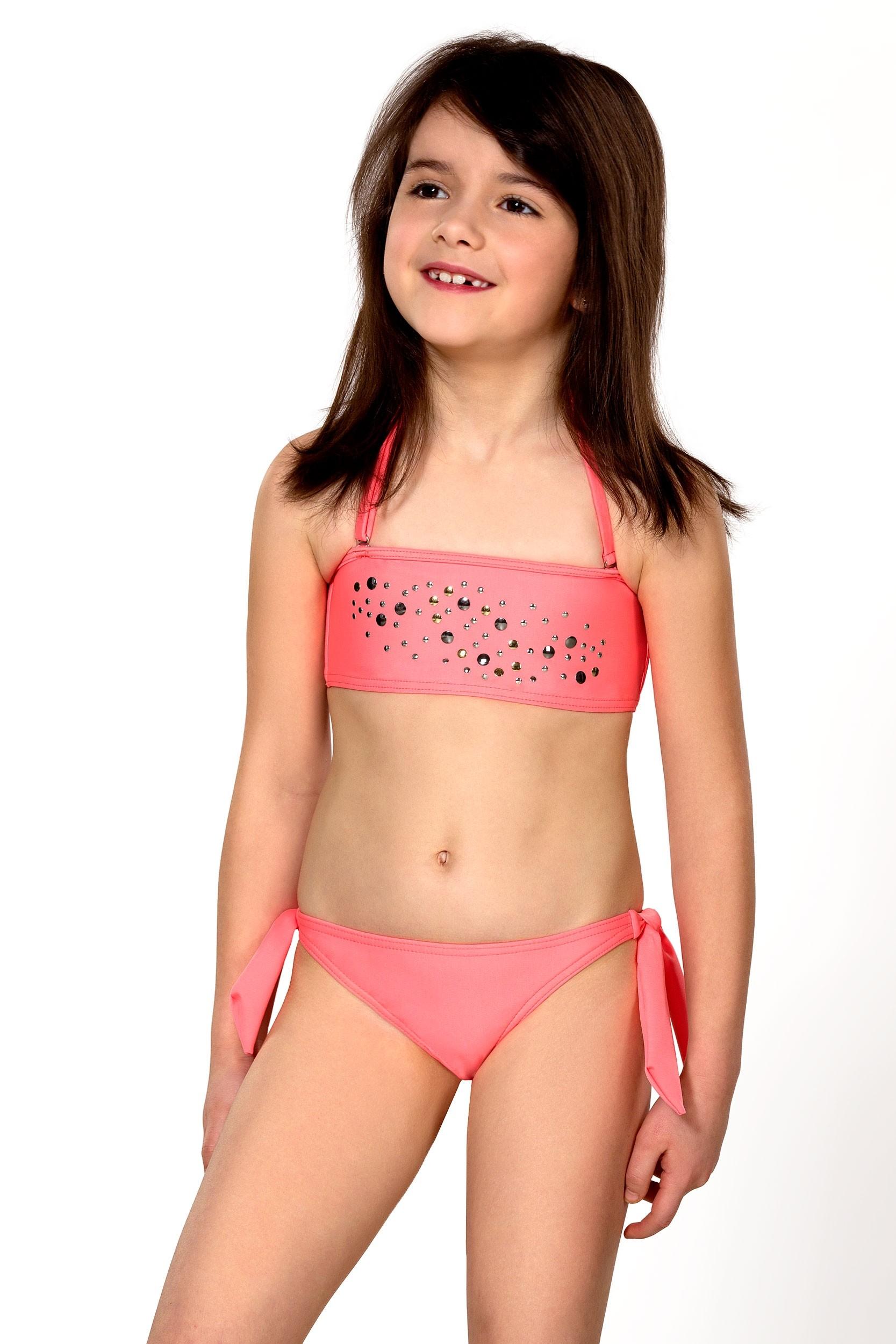 Dievčenské plavky dvojdielne - Model 77
