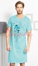 e651aeeb49e1 Pánska nočná košeľa Gazzaz - Triangel