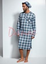 ec4506d39 Pánska nočná košeľa s dlhým rukávom Cornette