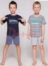 c6867ca18d3f Pruhované chlapčenské pyžamo Max - krátke